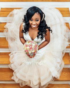 Black Bride Wedding Tampa