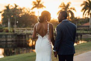 Orlando Wedding Couples Sunset