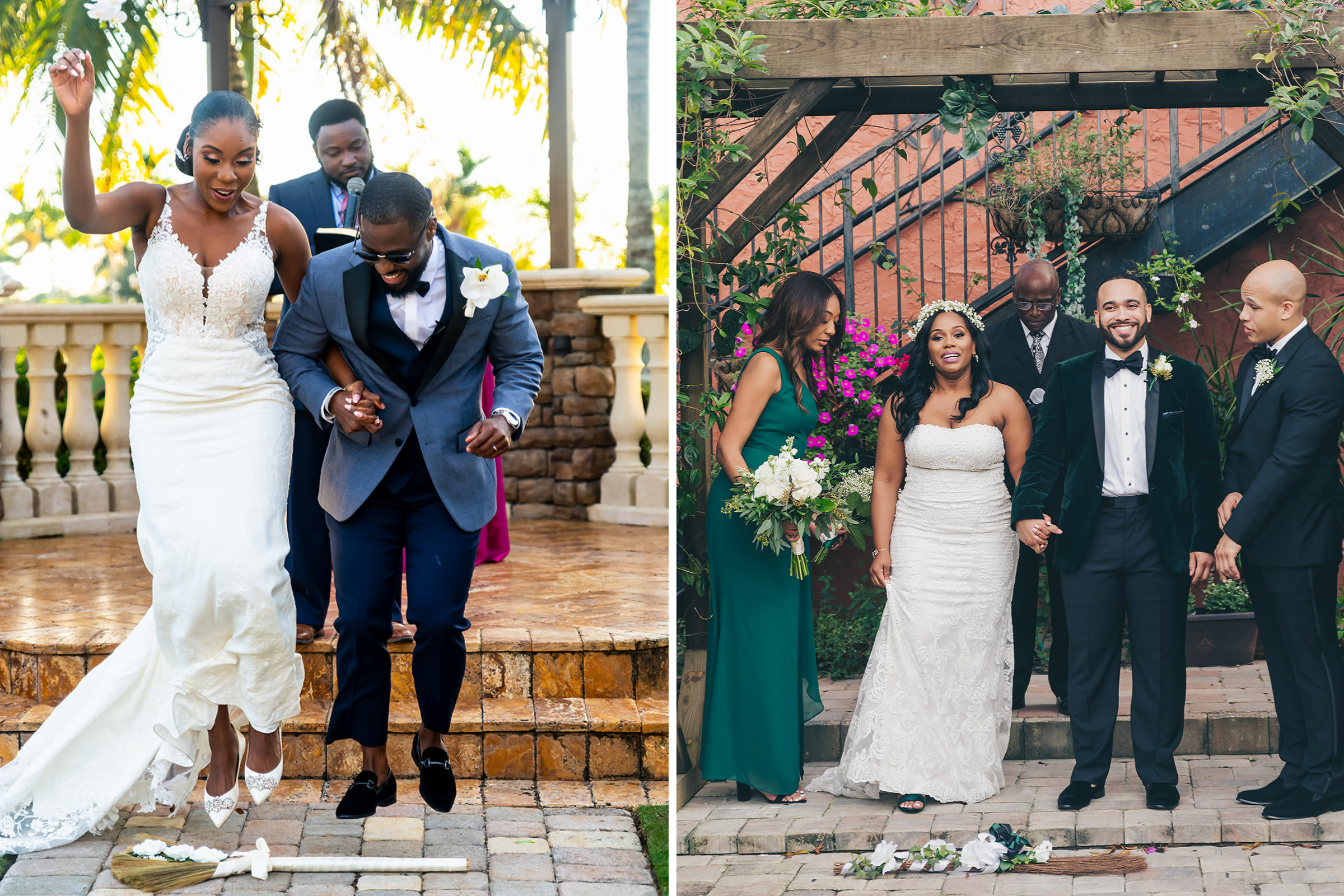 Jumping the Broom Wedding Traditions