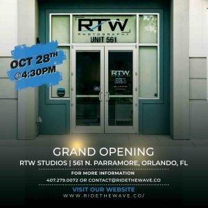 RTW studios grand opening
