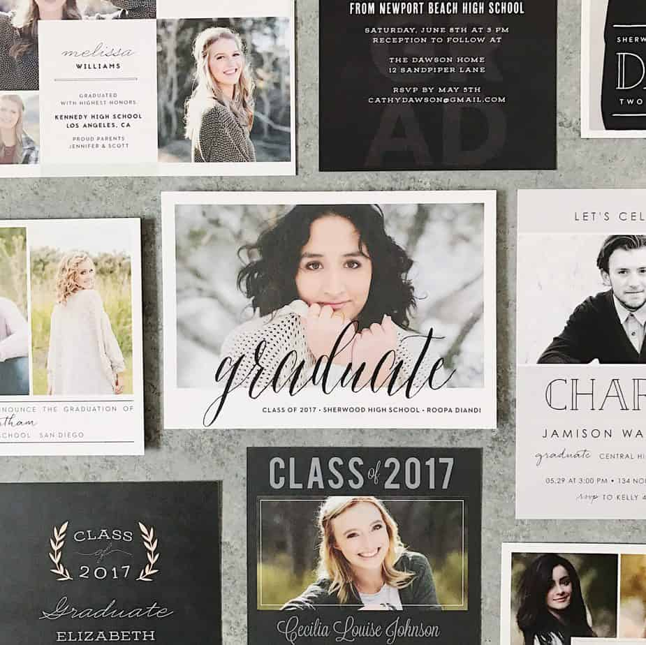 This year, share your graduation portraits with Basic Invites!